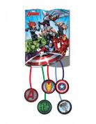 Avengers™ Superhelden-Pinata bunt 20,5 x 22 cm