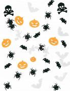 Tisch-Konfetti Halloween-Partydeko weiss-schwarz-orange 9,07g