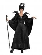 Mächtige Hexen-Königin Halloween Kostüm für Damen schwarz