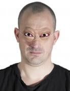 Dämonische Augenmaske Vampiraugen hautfarben-rot-weiss
