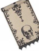 Halloween Totenkopf-Tischläufer