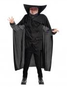 Kopfloser Reiter mit Cape Halloween Kostüm für Jungen schwarz