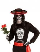 Dia de los Muertos T-Shirt schwarz-weiss