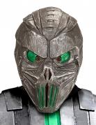 Roboter-Maske Cyborg Science-Fiction-Maske silber-grün