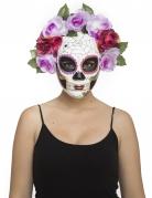 Dia de los Muertos-Damenmaske bunt