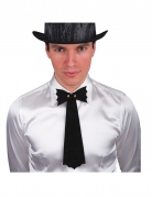 Halloween-Krawatte Fledermaus Kostümaccessoire schwarz