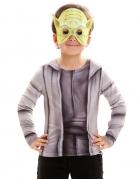 Star Wars™ Kinder-Shirt Yoda Lizenzware grau