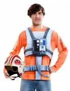 Star Wars™ T-Shirt Luke Skywalker Lizenzware orange-silber