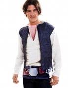 Star Wars™ T-Shirt Han Solo Lizenzware blau-weiss