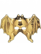 Schaurige Fledermaus-Maske Halloween-Maske gold