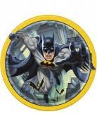 Batman™-Pappteller 8 Stück bunt 23 cm