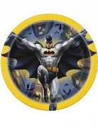 Kleine Batman™-Pappteller 8 Stück bunt 18 cm
