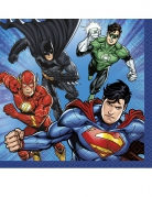 Justice League™-Servietten 16 Stück bunt 25 x 25 cm
