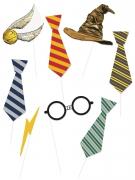 Harry Potter™-Fotoset 8-teilig bunt