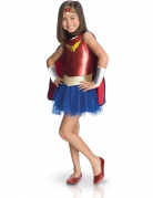 Wonder Woman™-Mädchenkostüm bunt