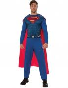 Superman™-Erwachsenenkostüm blau-rot-gold