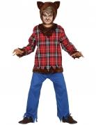 Werwolfkostüm für Jungen Halloween bunt