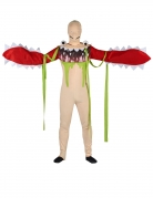 Monstermund-Kostüm für Erwachsene bunt