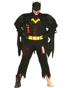 Zombie Superhelden-Kostüm schwarz-gelb