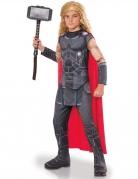 Thor Ragnarök™-Kostüm für Kinder Halloweenkostüm grau-rot