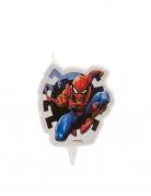 Spider-Man™ Geburtstagskerze bunt 7,5 cm