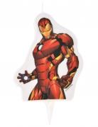 Iron Man™-Geburtstagskerze bunt 6 x 7,3 cm