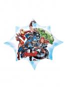 Avengers™-Aluminiumballon bunt 25 x 27 cm