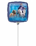 Star Wars™ Aluminium-Ballon bunt 23x23 cm