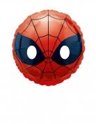 Spider-Man™ Emoji™ Alu-Ballon rot-schwarz 23 cm