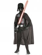 Klassisches Darth Vader™-Kinderkostüm Lizenzartikel schwarz