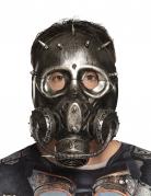 Steampunk-Gasmaske für Erwachsene schwarz