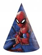 Spider-Man™ Partyhüte 6 Stück bunt