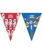 Star Wars™-Girlandenset Lizenzartikel bunt 230x25cm