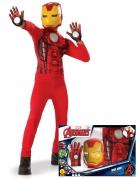 Iron Man™-Lizenzkostüm für Kinder bunt