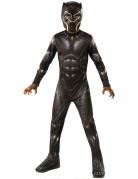 Black Panther™-Kostüm für Kinder schwarz