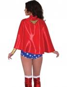 Wonder Woman™-Umhang für Damen rot-goldfarben