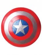 Captain America™-Schild Kostüm-Accessoires rot-silberfarben-blau
