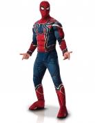 Iron Spider™-Kostüm für Herren Deluxekostüm rot-blau-gold