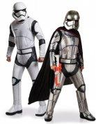 Star Wars™-Paarkostüm Stormtrooper und Captain Phasma Lizenzartikel weiss-schwarz-silber