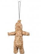 Voodoo-Puppe Halloween-Accessoire braun 33cm