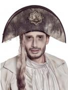 Geister-Piraten-Hut für Halloween grau-braun