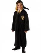 Harry Potter™-Kinder Lizenzkostüm mit Kapuze schwarz-gelb