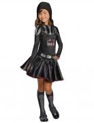 Darth Vader-Kostüm für Mädchen Star Wars™ schwarz