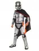 Captain Phasma™-Kinderkostüm Star Wars™ silber-schwarz