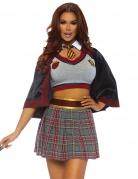 Hexen-Schülerin Kostüm für Damen bunt