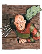 Freddy Krueger™ 3D-Wandbild braun-bunt 61x74cm