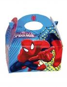 Spiderman™-Geschenkboxen Deko 4 Stück blau-rot 16x10,5x16cm