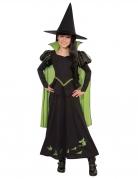 Hexenkostüm für Kinder Hexe des Westens Der Zauberer von Oz™ schwarz-grün