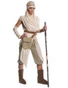 Star Wars™-Damenkostüm Rey Deluxekostüm beige