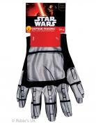 Captain Phasma™-Handschuhe Star Wars™-Accessoire silber-schwarz